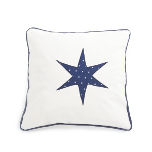Pillow Canvas Navy Blue
