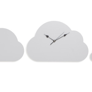 Cloud Clock + Two Clouds