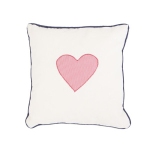 Pillow Navy Love